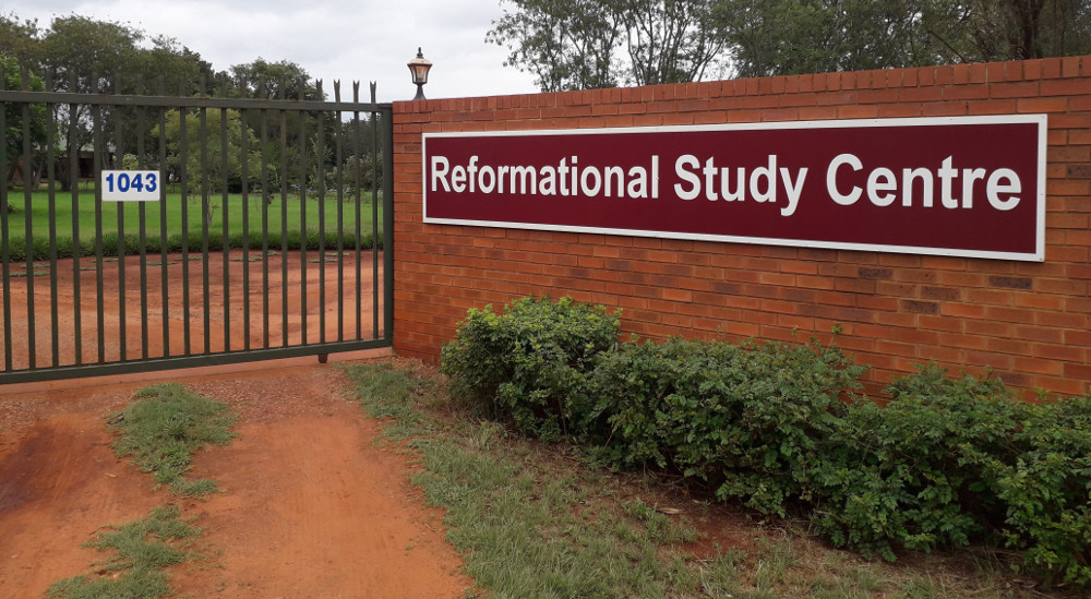 View of the entrance to the Reformational Study Centre